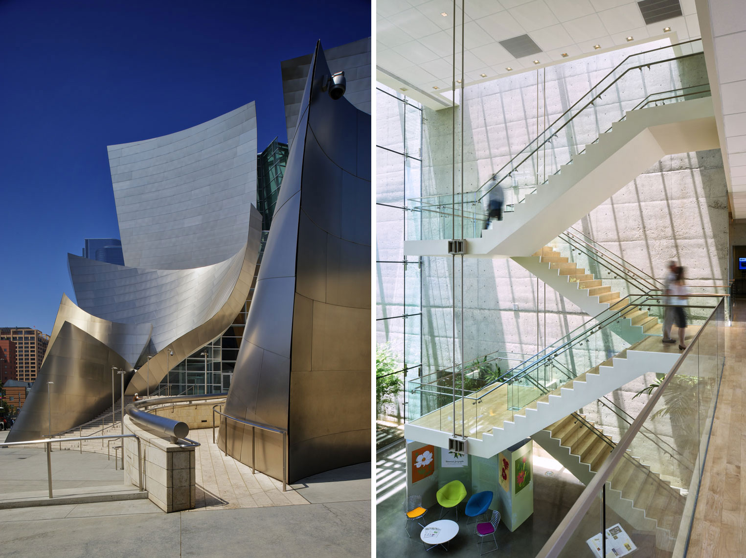 Gehry: Walt Disney Concert Hall + Esri Corporate HQ