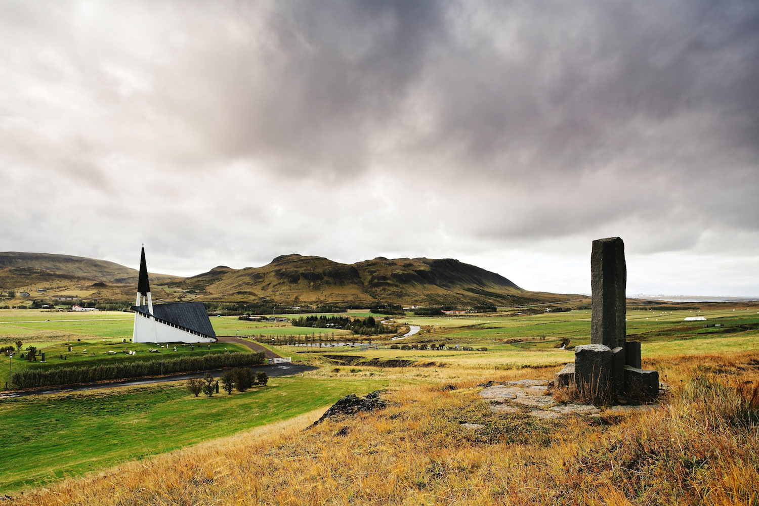 Iceland: Mossfell Church