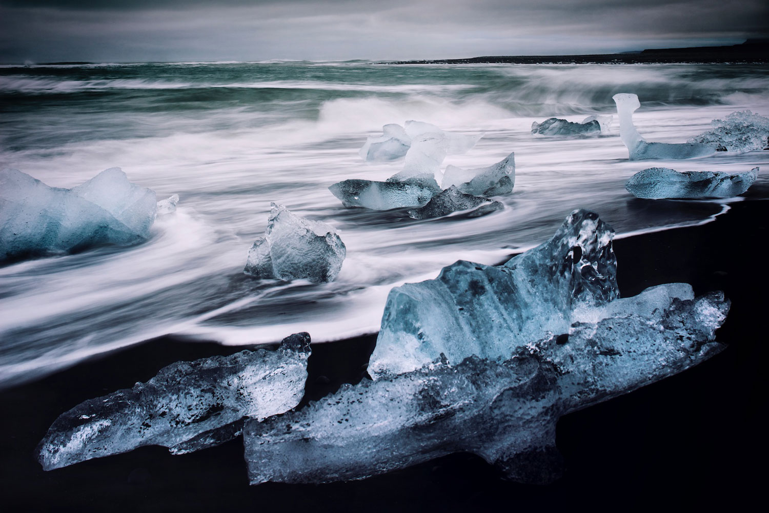 Iceland: Crystal Beach